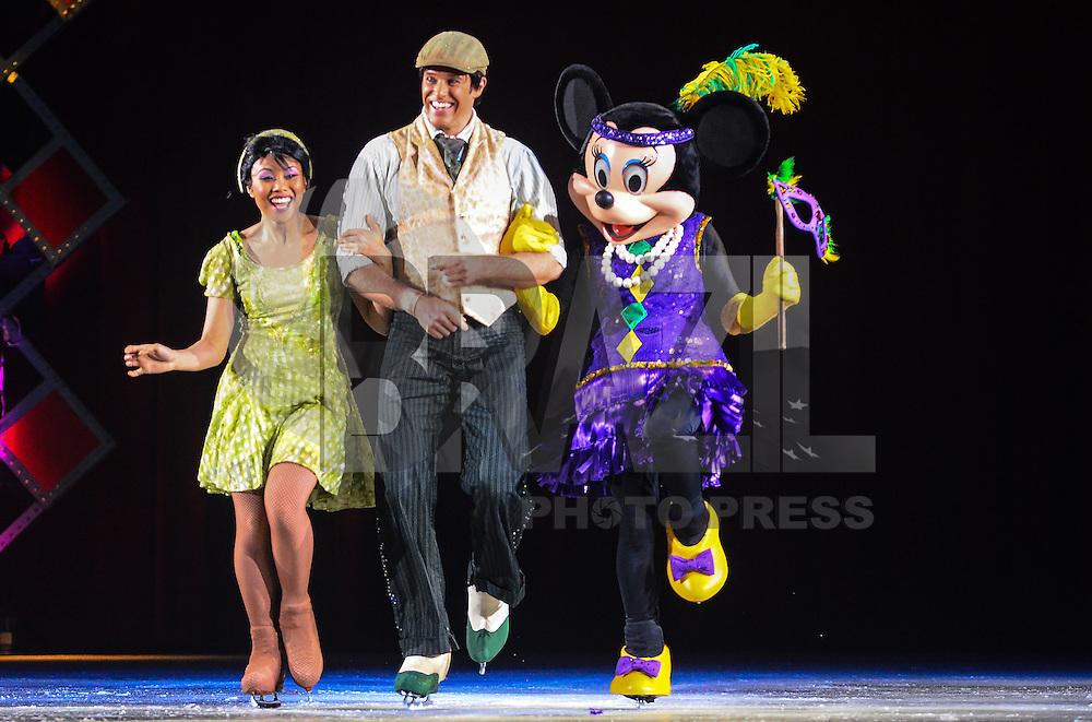 RIO DE JANEIRO, RJ, 09 DE MAIO DE 2013 - DISNEY ON ICE- Personagens da Disney se apresentam no Maracanãzinho no espetáculo Disney on Ice.FOTO:MARCELO FONSECA/BRAZIL PHOTO PRESS