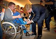 Koning Willem Alexander opent  het vernieuwde Emma Kinderziekenhuis AMC