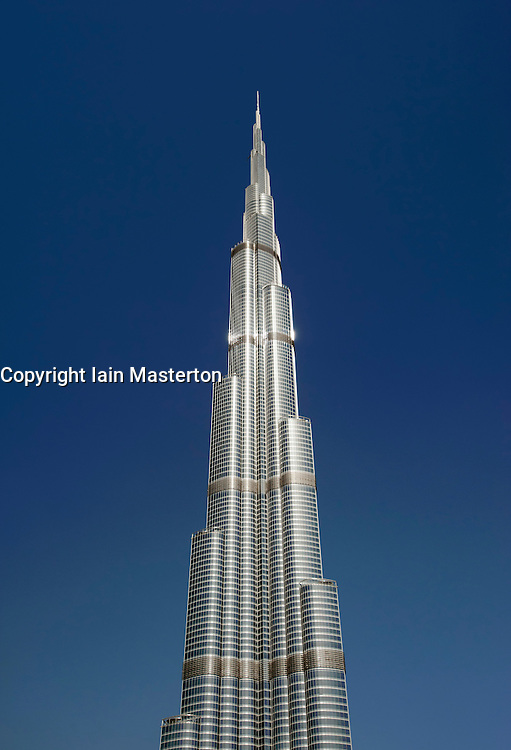 the world s tallest building in Dubai   United Arab Emirates  UAEUae Tallest Building In The World