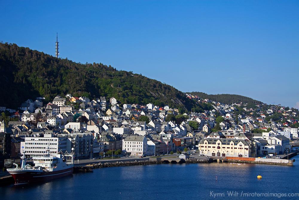 Europe, Norway, Alesund. Port of Alesund.
