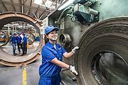 China / Fengxian / 22/10/2014<br /> <br /> Semperflex Shanghai Plant in Fengxian (Shanghai Chemical Industrial Park Fengxian Subzone) <br /> <br /> &copy; Daniele Mattioli