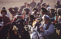 Fra en Buzkashi kamp på Kabul Stadion. Buzkashi er Afghanistans nasjonalsport og betyr geiteknabbing, From a Buzkashi match at Kabul Stadion. Buzkashi means goat fetching and is the Afghan national sport