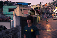 Rio de Janeiro, Brasil, February 08 of 2014: Pietro, an young football player, a FOT, and his moments during a saturday game day. Foto: Caio Guatelli