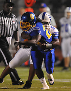 Oxford High's Mont Dean (22) vs. Senatobia in high school football in Oxford, Miss. on Friday, September 9, 2011. Oxford won 40-20.