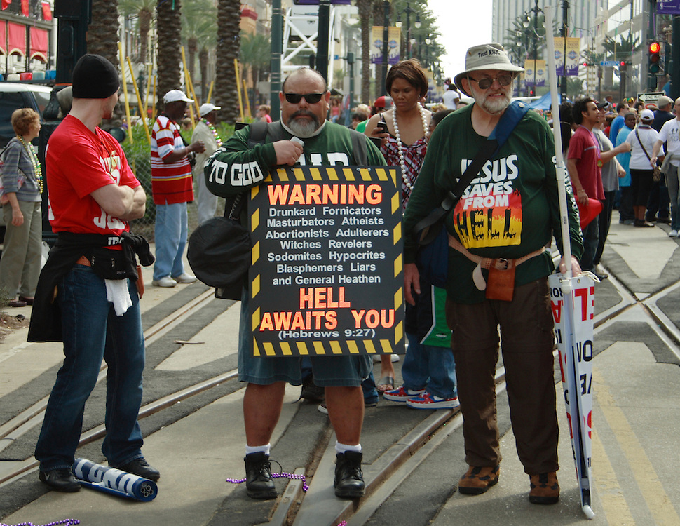 Hell Awaits You, New Orleans, LA, Mardi Gras 2008