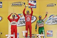 Scott Dixon, Helio Castroneves, Tony Kanaan, Indy Car Series