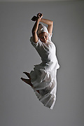 Photograph of Andanza's Ballet Academy student. (2009)