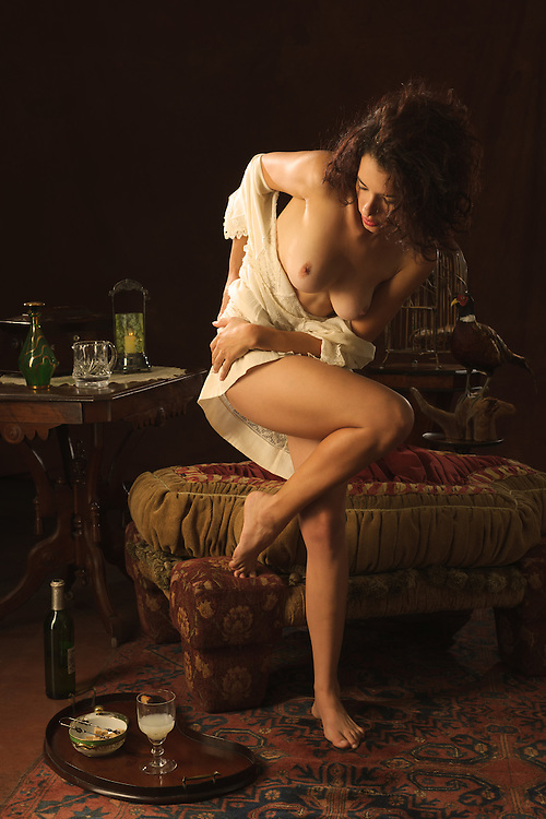 La Muse Seduced. Turn of the century 1910)<br />