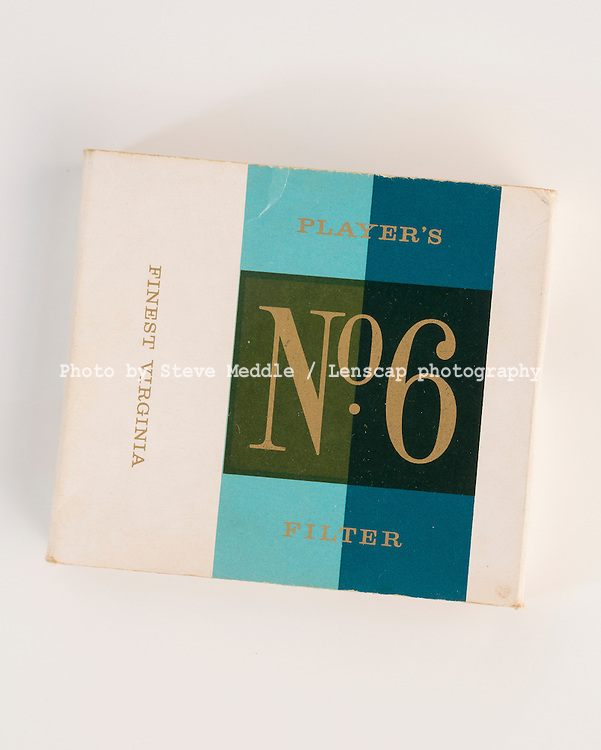 Packet of 20 Players No.6 Filter Cigarettes - Apr 2016