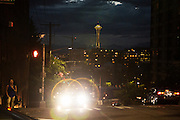The Space Needle in Seattle, WA. July 21, 2016<br /> <br /> Credit: Matt Lutton / Boreal Collective for The New York Times