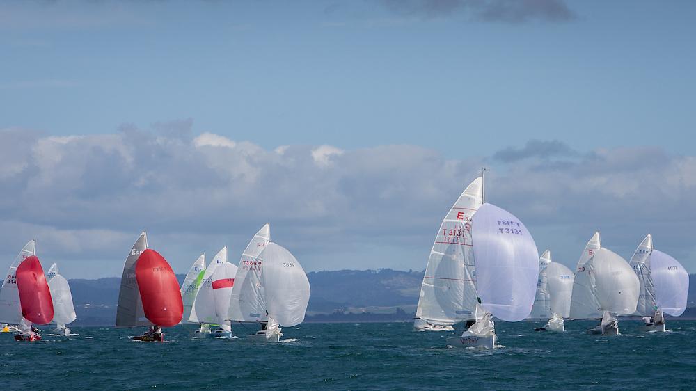 E5.9 regatta, Bream Bay.  July 2013.<br /> Photo: Gareth Cooke/Subzero Images