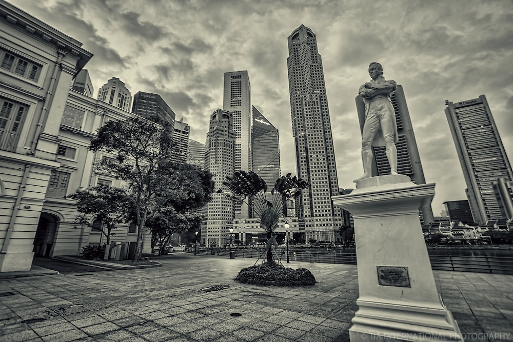 Landing Site of Sir Stamford Raffles (a.k.a. Founding Father of Singapore)