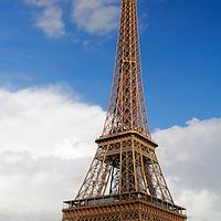 Europe, France, Paris. Eiffel Tower.