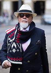 NOV 11 2014 Gary Glitter arrives at Crown Court