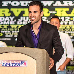 CARSON - MAY 31: Boxer Devin Rodriguez at Home Depot Center Press Conference. All fees must be ageed prior to publication,.Byline and/or web usage link must read PHOTO Eduardo E. Silva/SILVEX.PHOTOSHELTER.COM Failure to byline correctly will incur double the agreed fee.