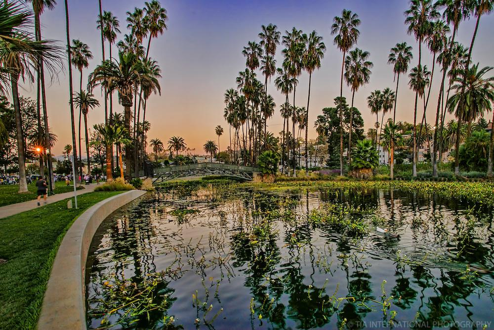 Echo Lake Park @ Sunset