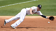 CHICAGO - MAY 25:  Todd Frazier #21 of the Chicago White Sox fields against the Cleveland Indians on May 25, 2016 at U.S. Cellular Field in Chicago, Illinois.  The Indians defeated the White Sox 4-3.  (Photo by Ron Vesely)    Subject:  Todd Frazier