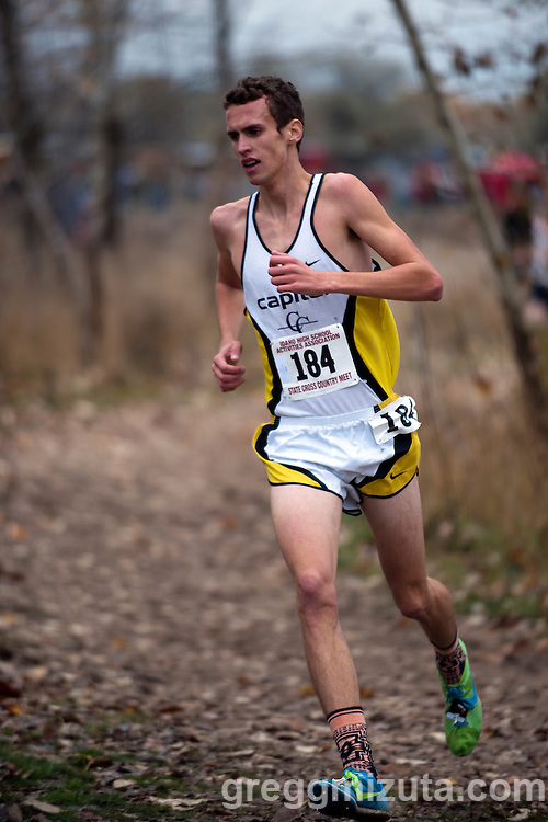 Idaho High School Cross Country State Championships, November 1, 2014 at Eagle Island State Park, Eagle, Idaho.
