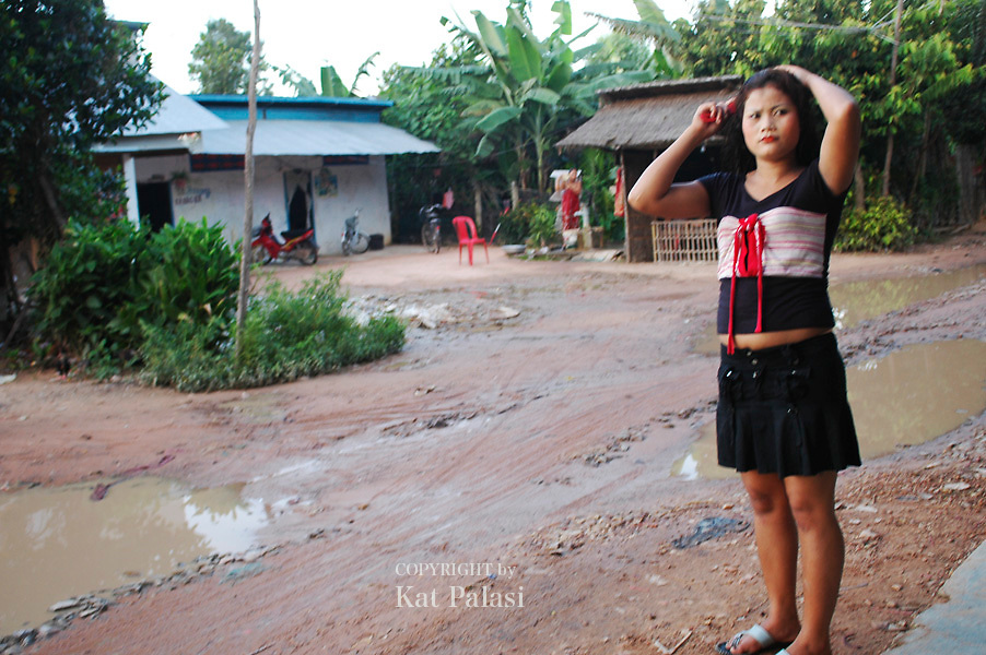 """These are young women who """"entertain"""" mostly local clients in Siem Reap,Cambodia. many of these images were taken in one village in 2005."""