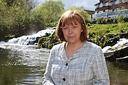 Labour Party MEP for Dublin, Emer Costello at the second annual Dodder River CleanUp.