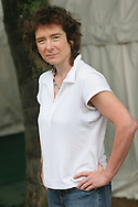 Jeanette Winterson, renowned author of 'Oranges Are Not The Only Fruit' and 'Weight', appearing at an Edinburgh International Book Festival photo call in Edinburgh, Scotland, on Friday 18th August 2006. Over 600 authors from 35 countries are appearing at the Edinburgh International Book festival during 12th-28th August. The festival takes place in historic Edinburgh city, a UNESCO City of Literature.