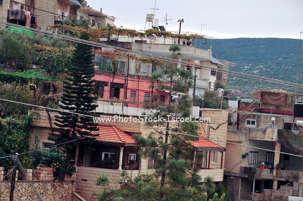 Israel, Upper Galilee, The Druze village of Peki'in