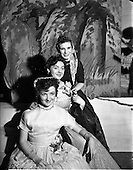 """1952 - Cast members in O'Connell School Musical and Dramatic Society Presentation of """"Runaway Girl"""""""