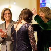 School of Nursing and Human Physiology Fall Semester Pinning Ceremony on Dec. 14. (Gonzaga University photo Ryan Sullivan)