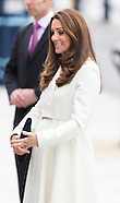 Duchess of Cambridge in Portsmouth