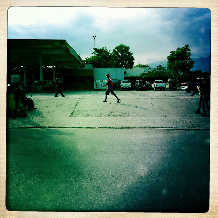 A street scene on Wednesday, April 4, 2012 in Port-au-Prince, Haiti.
