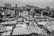 Dhaka. Bangladesh (2008). Overview image of Dhaka city. Bangladesh ranks first as the nation most vulnerable to the impacts of climate change. Scientists expect rising sea levels to submerge 17 percent of Bangladesh's land and displace 18 million people in the next 40 years.