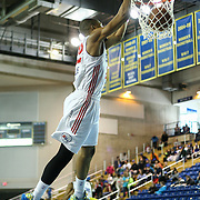 Delaware 87ers Forward Rodney Williams (22) dunks the ball in the course of a NBA D-league regular season basketball game between the Delaware 87ers (76ers) and the Austin Toros (Spurs) Monday, Jan. 27, 2014 at The Bob Carpenter Sports Convocation Center, Newark, DE