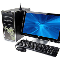 HP Eco-Friendly EnergyStar Wireless PC