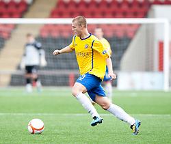 Cowdenbeath's Kenny Adamson..Airdrie United 1 v 5 Cowdenbeath, 20th August 2011..© pic : Michael Schofield.