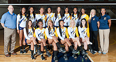 2014 A&T Volleyball Team Pictures