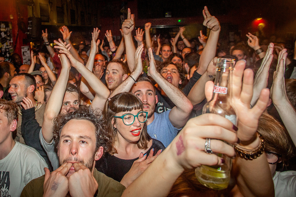 GOULASH DISKO FESTIVAL SHOWCASE: The musical gypsies with fiery brass and volcanic percussion, La Trocamba Matanusca direct from Valencia. Punk, RnB and exotica are mashed up by The Severed Limb in a haze of Rock n Roll. David X displaying a heady mix of beatboxing and instrumentalism. Plus Haris Pilton spinning gypsy, ragga and bass till the wee hours. Saturday 4 June, 2016. (Photos/Ivan Gonzalez)