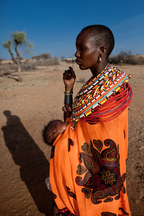 Locl community at Samburu