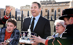 Photocall to launch the brand new stage show of David Walliams book Gangsta Granny at The Tower of London, Tower Hill, London on Wednesday 23 September 2015