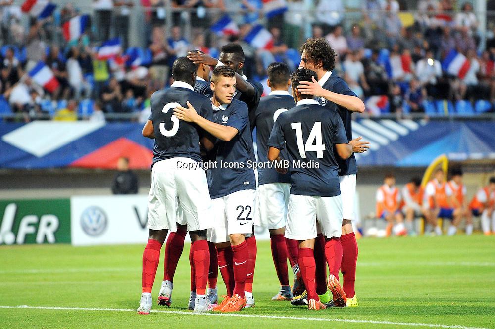 Joie France - 11.06.2015 - Football Espoirs - France / Coree du Sud - match amical -Gueugnon<br /> Photo : Jean Paul Thomas / Icon Sport