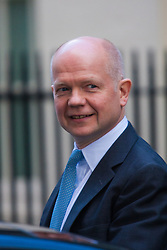 London, March 24th 2015. Members of the Cabinet gather at Downing street for their weekly meeting. PICTURED: William Hague, Leader of the House of Commons