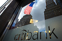 CitiBank at 460 Park Avenue in New York. <br /> <br /> Photo by Robert Caplin