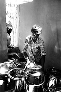Alangallur, India: Prizes at the Jallikattu festival