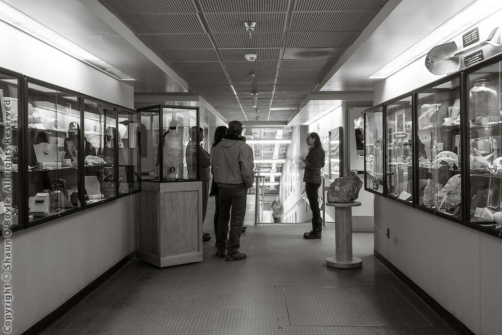 Crary Lab entrance area