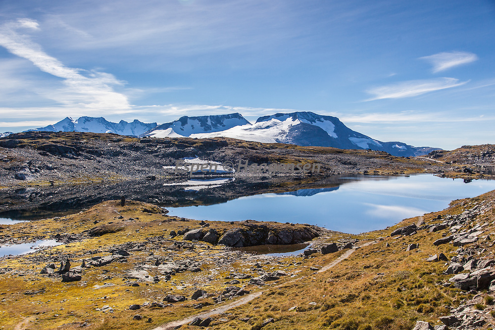 Calm fall day at Sognefjellet