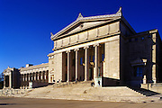 Image of the Field Museum of Natural History in Chicago, Illinois, American Midwest