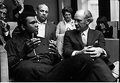 1972 - Muhammad Ali meets Taoiseach Jack Lynch at Leinster House