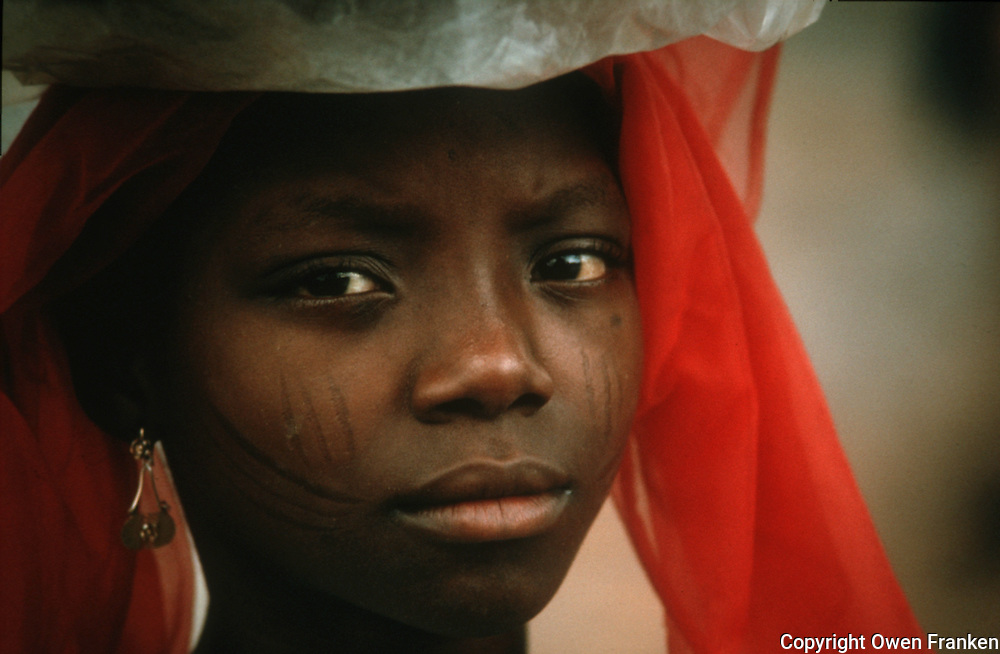 Hausa teenager in Nigeria