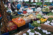 Urla's market is small but rich in foraged and cultivated herbs and vegetables.