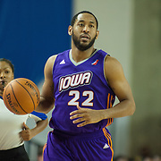 Iowa Energy Guard Austin Freeman (22) dribbles the ball up court in the second half of a NBA D-league regular season basketball game between the Delaware 87ers (76ers) and the Iowa Energy Tuesday, Jan 14, 2014 at The Bob Carpenter Sports Convocation Center, Newark, DE