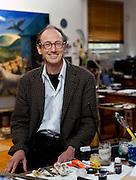 Artist Gary Shead at home in Bundeena, Sydney's southern suburbs.